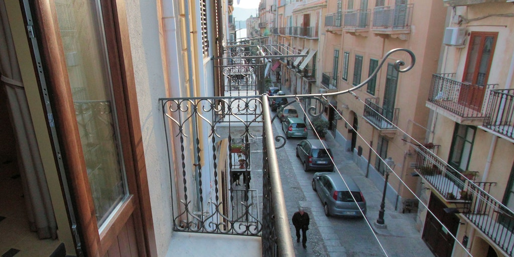Balcony for apartment Filicudi