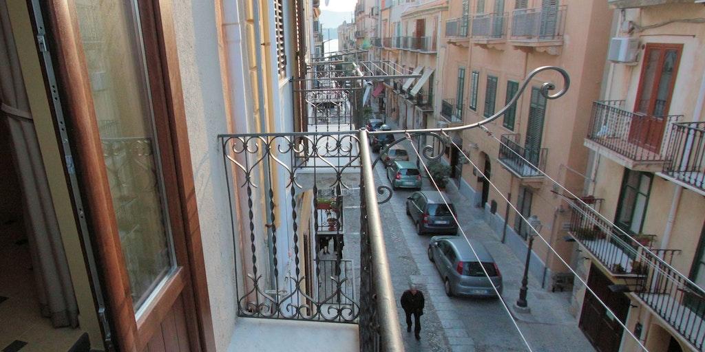 Balcon de l'appartement Filicudi