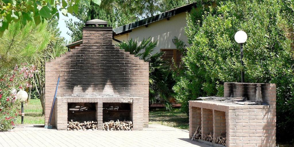 Espace barbecue en commun