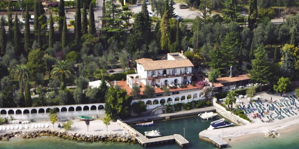 Villa lucia set fra luften
