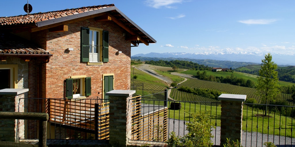 Terrassen till lägenheten Sant'Anna