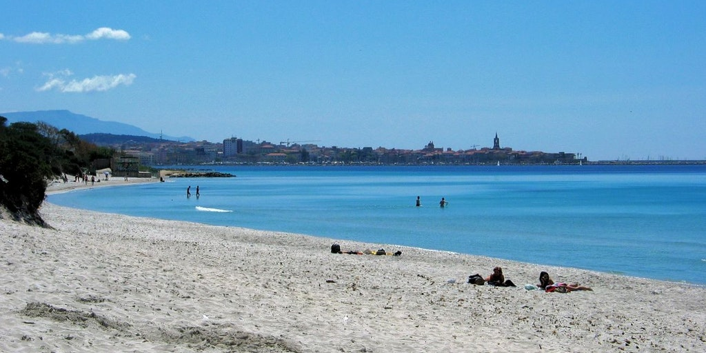 View of Alghero from Maria Pia beach