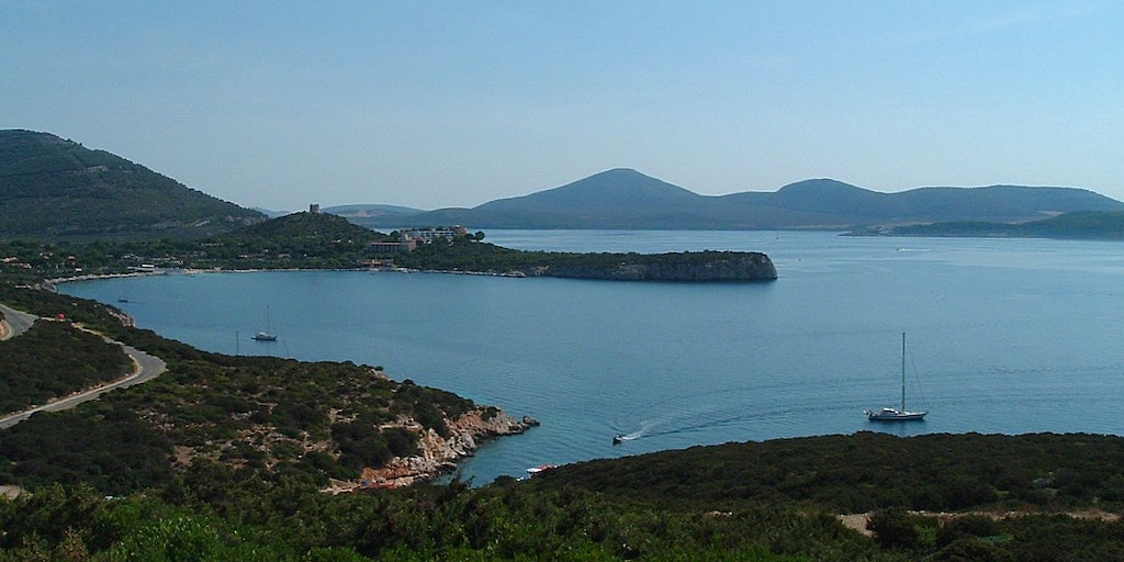 Landscape at Porto Conte outside Alghero