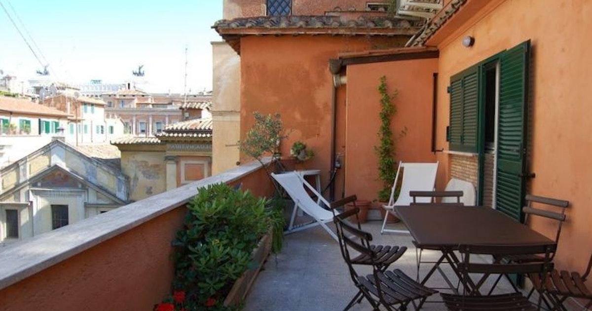 terrazza sant 39 ignazio h bergement rome. Black Bedroom Furniture Sets. Home Design Ideas
