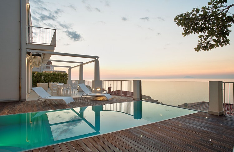 Villas Costa d\'Orlando - Ferienhaus / Villa in Scafa Bassa auf Sizilien
