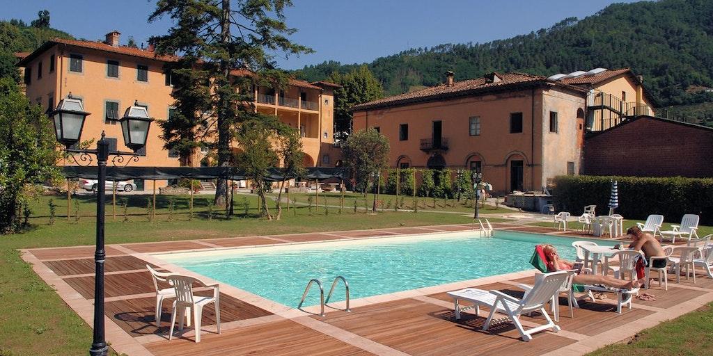 Hotel regina chambre bagni di lucca toscane - Hotel bagni di lucca ...