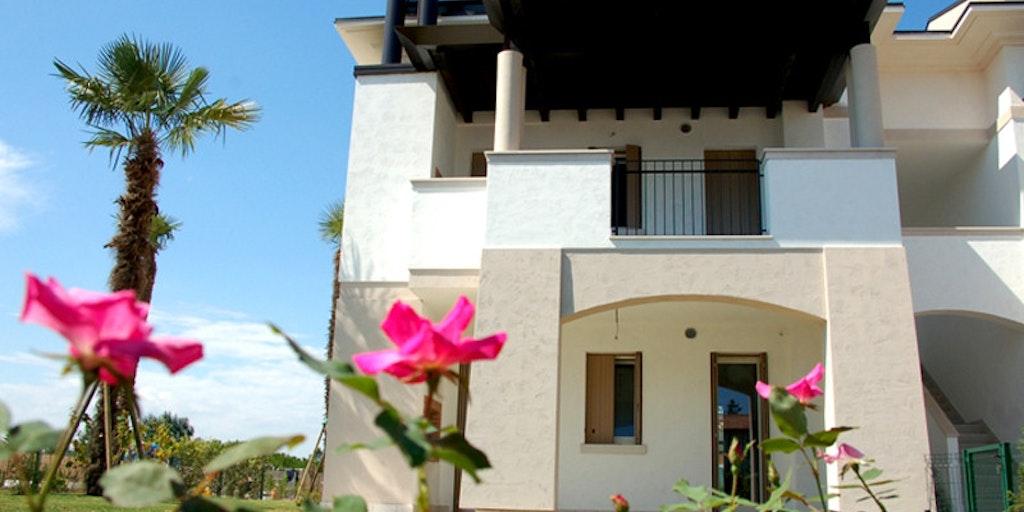 Un des bâtiments de la Residence Evanike à Bibione