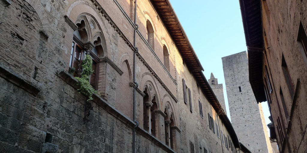 The Middle Ages are everywhere in San Gimignano