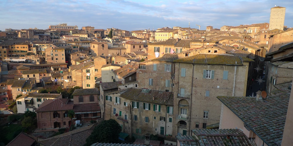 Siena is also beautiful in January