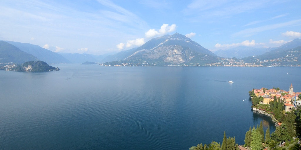Lake Como's dramatic scenery and welcoming villages