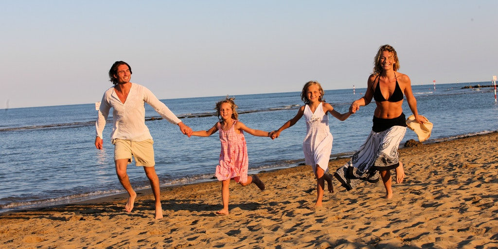 Beach holiday for the whole family in Lignano