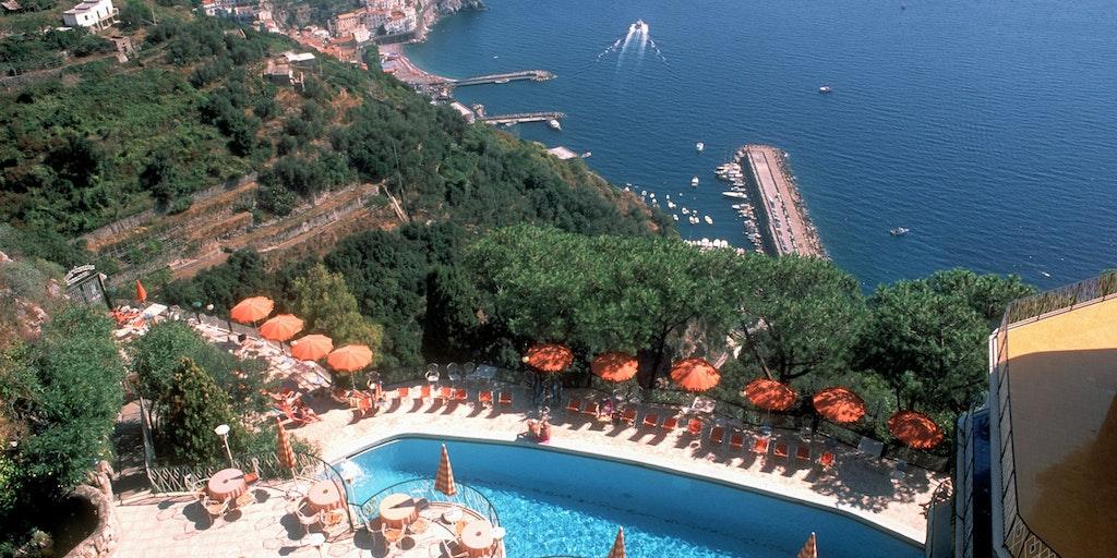 La piscine du Grand Hotel Excelsior