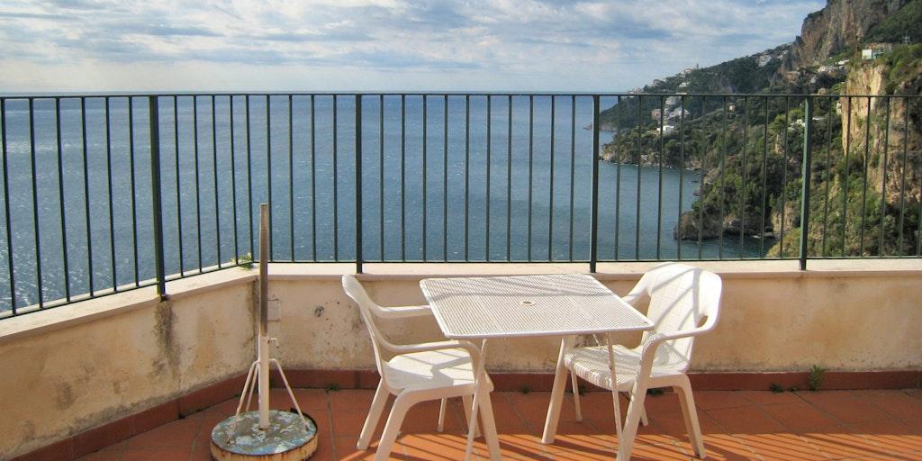 Votre vue panoramique depuis la terrasse