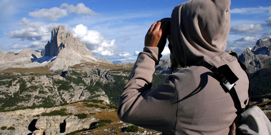 Views over the Dolomites