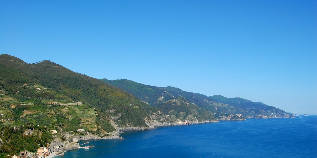View over the Cinque Terre