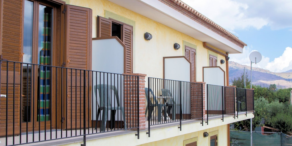 Superior rooms with private balcony