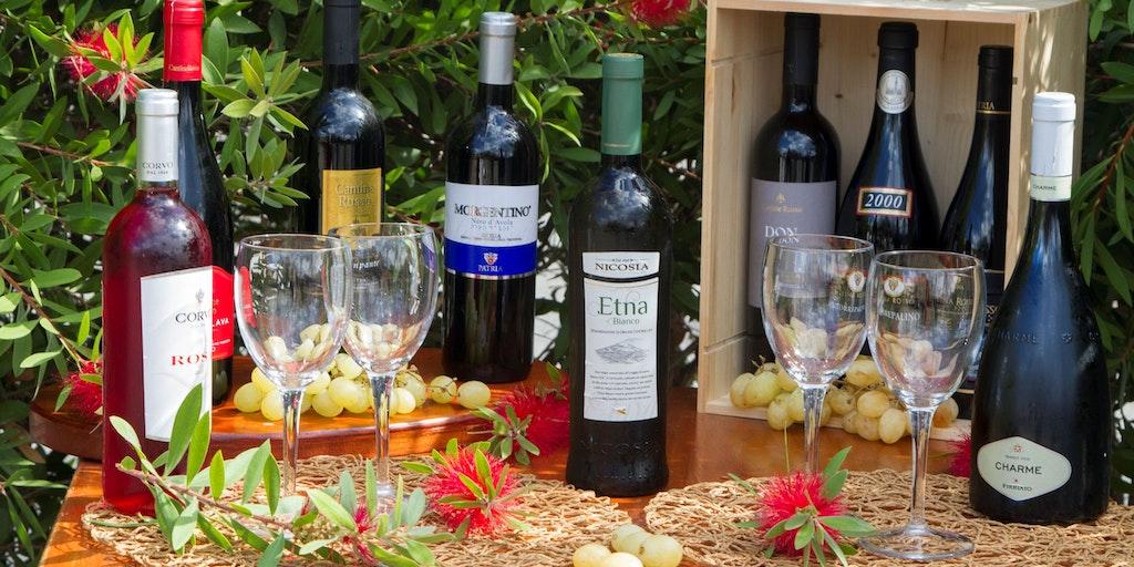 Taste Sicilian wines at La Terra dei Sogni
