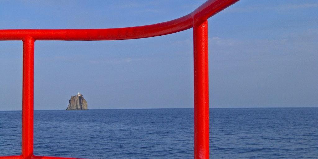 View on Stromboli island