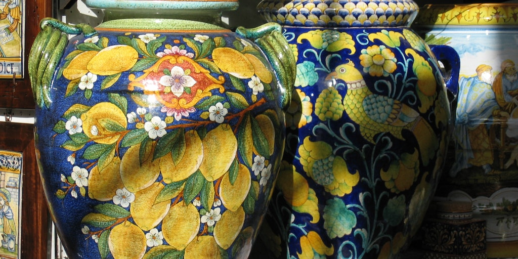 Ceramics from Ravello