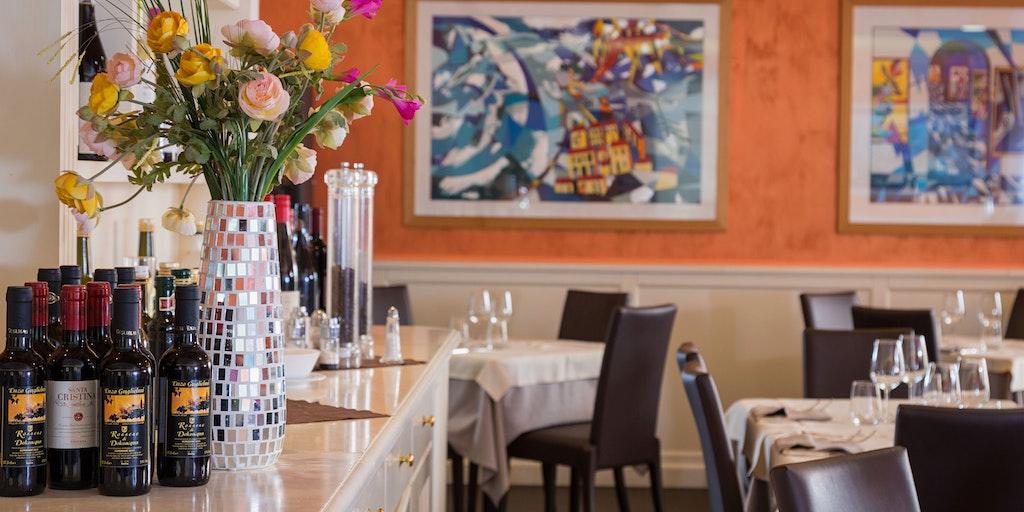 Grande Albergo's restaurant