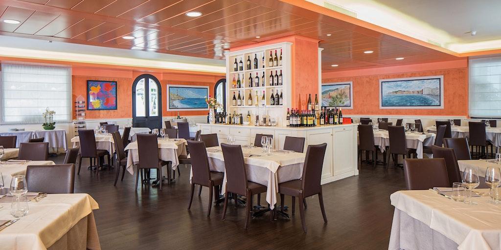 Restauranten på Grande Albergo