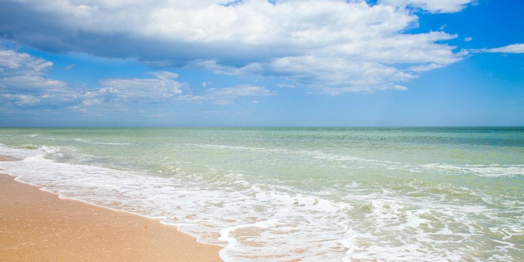 Beach on the Adriatic coast