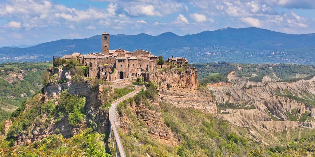 Civita di Bagnoregio i Lazio - near Bolsena
