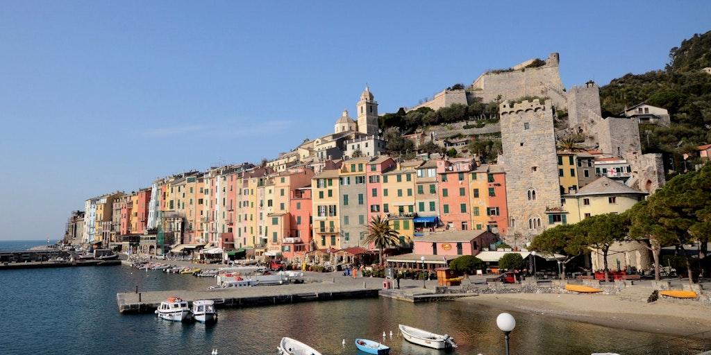 Portovenere sur la Riviera Italienne