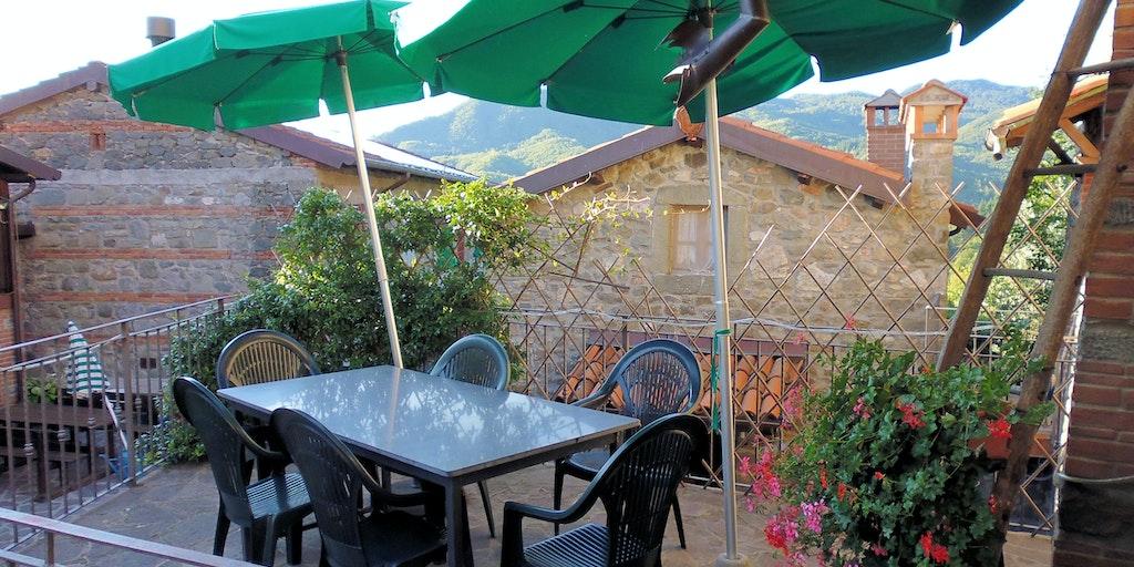 Terrassen til lejligheden Casa Grande