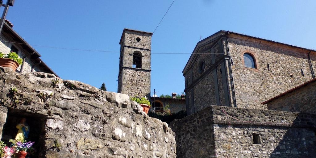 Från den lilla fraktionen San Michele