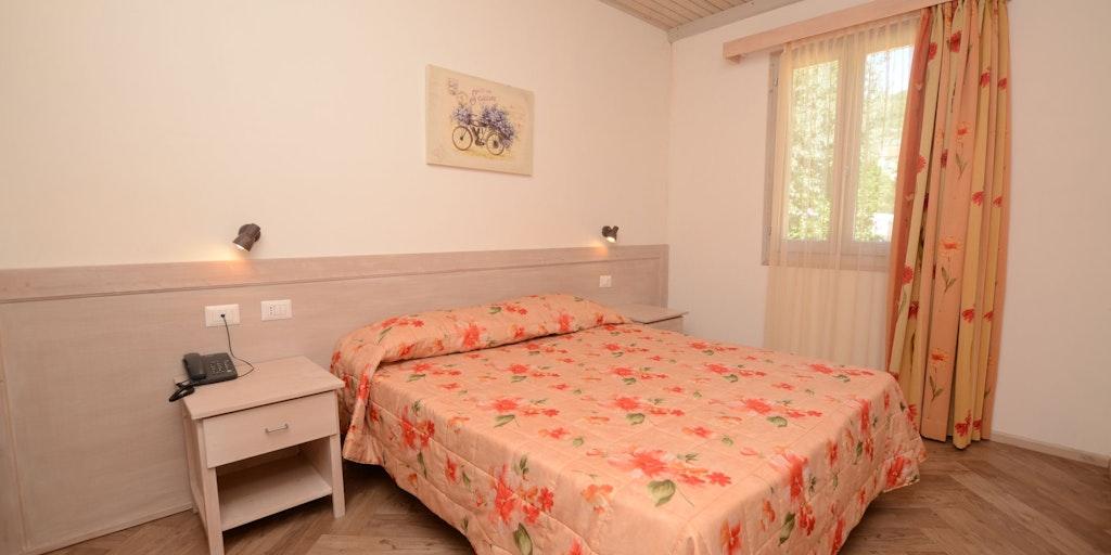 Beispiel Schlafzimmer im Villino-Reihenhaus