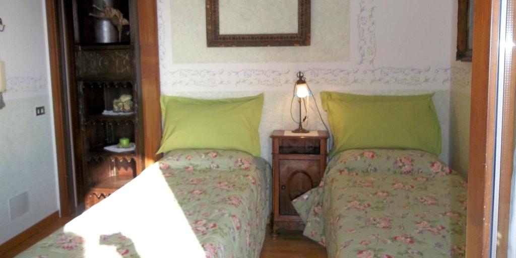 Dobbeltværelse Azzurra med privat terrasse (med badeværelse i kælderen)