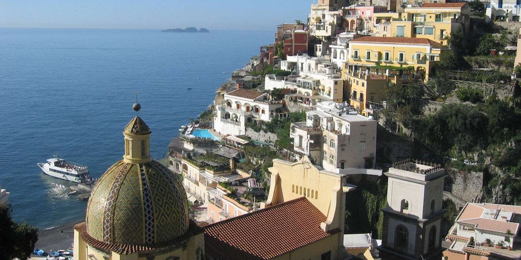 Go on holiday in southern Italy with In-Italia, as here in Positano.