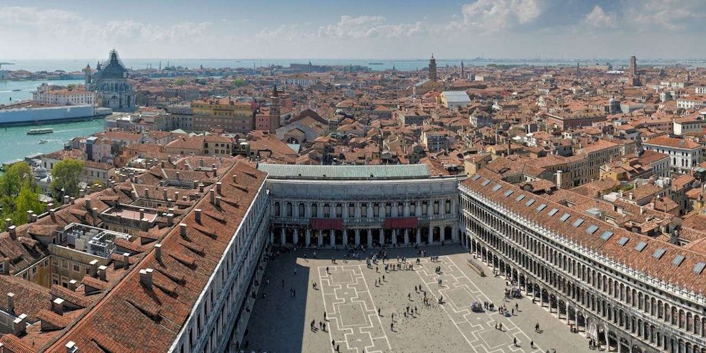 St. Mark's Square is one of the major attractions in Venice.