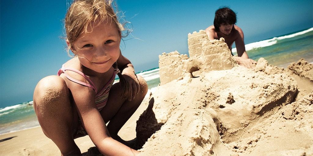 Barna kommer til å elske badeferien i Bibione