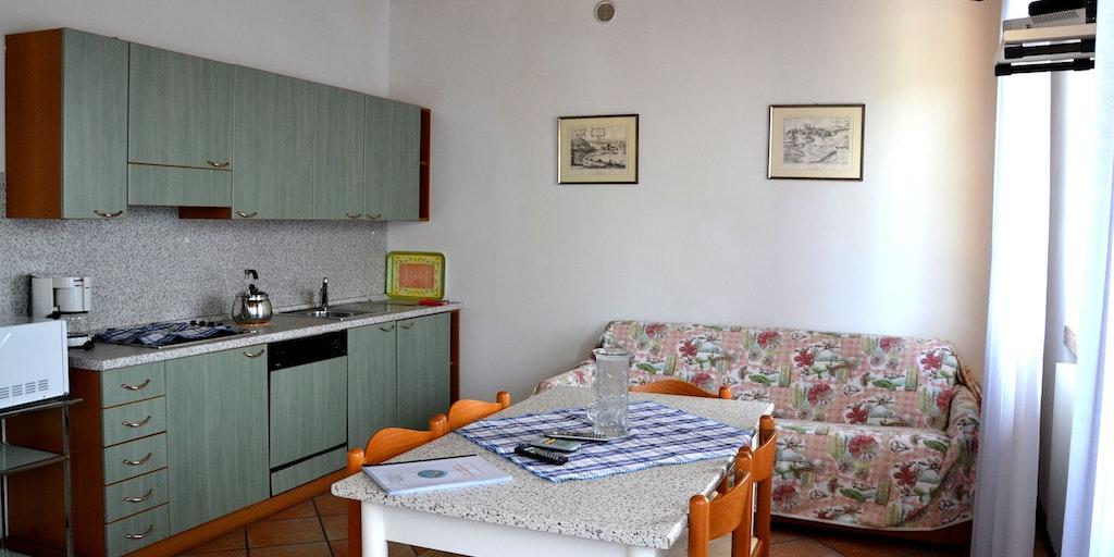 Appartement deux-pièces avec terrasse