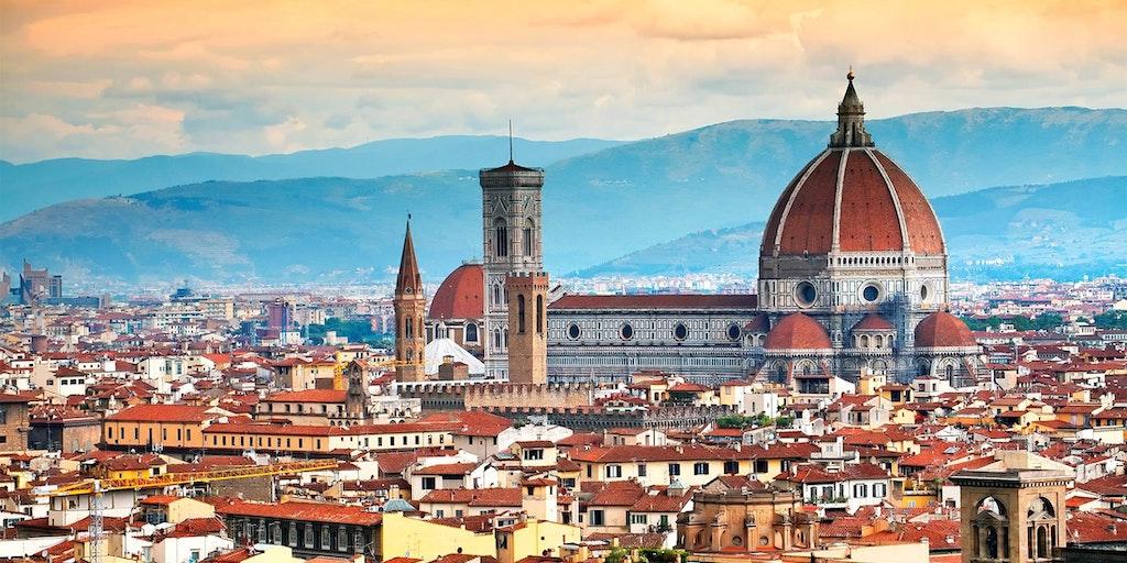 Den berømte kuppel på domkirken Santa Maria del Fiore