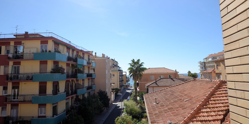View from the balcony rooms