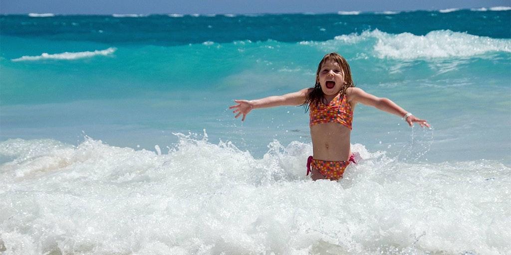 Barnen kommer älska en badsemester i Italien