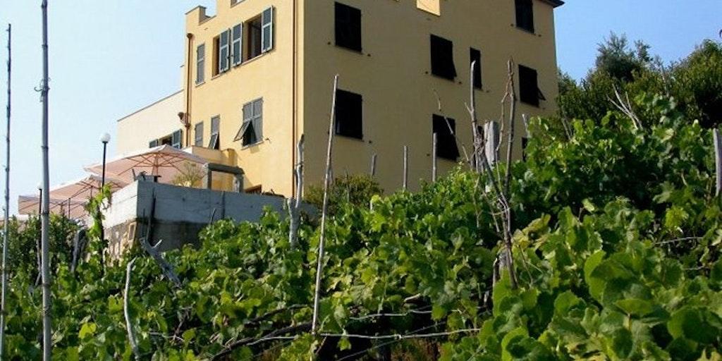 Hotellet ligge ri landsbyen Volastra