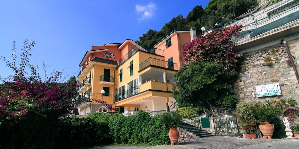 Hotel leopold hotel i moneglia i cinque terre for Hotel moneglia