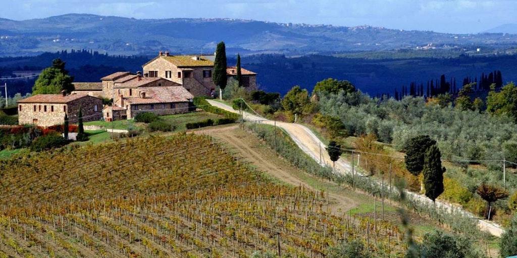 Res på bondgårdssemester i Italien med In-Italia