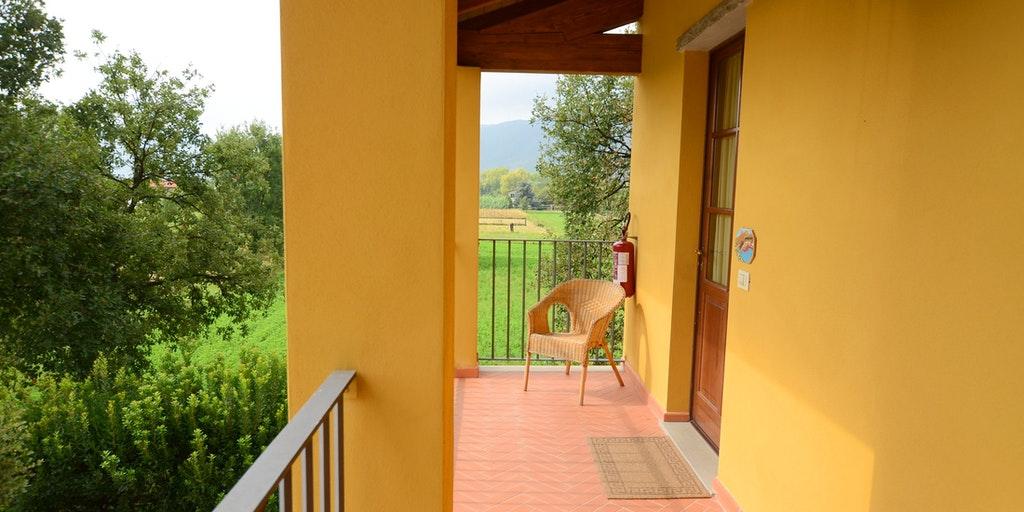 <p>One bedroom apartment Neraldo with it's small terrace</p>