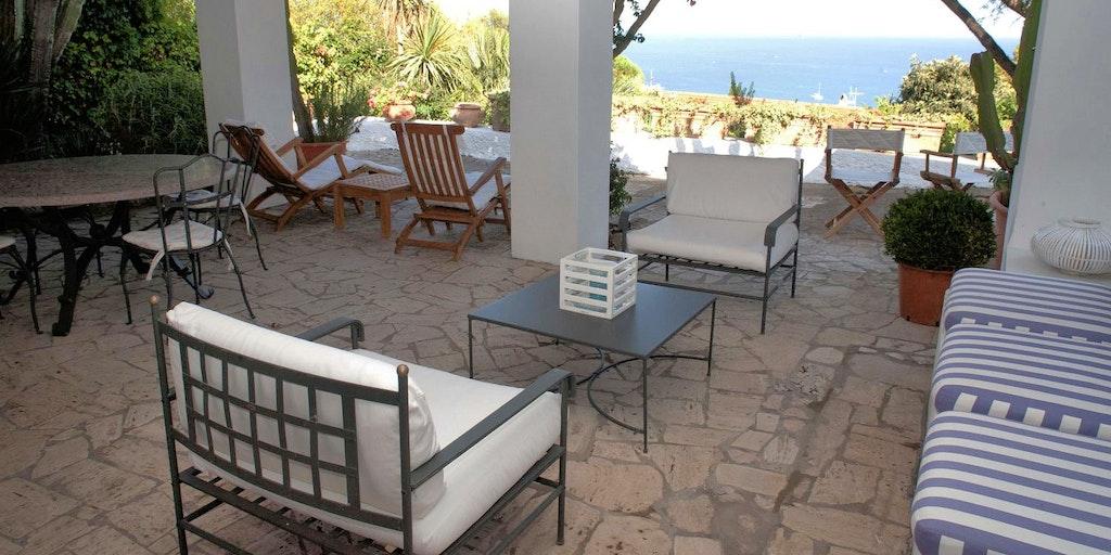 Freuen Sie sich auf die Terrasse mit Meerblick