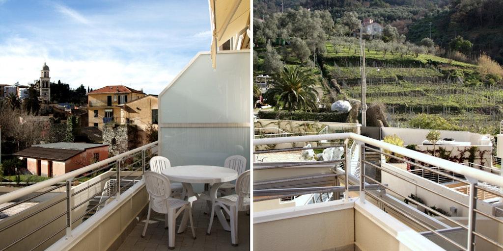 Terrasse der Wohnung A9