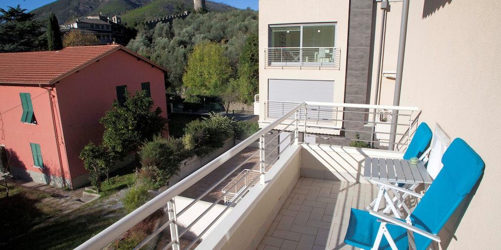 Terrace of apartment C8
