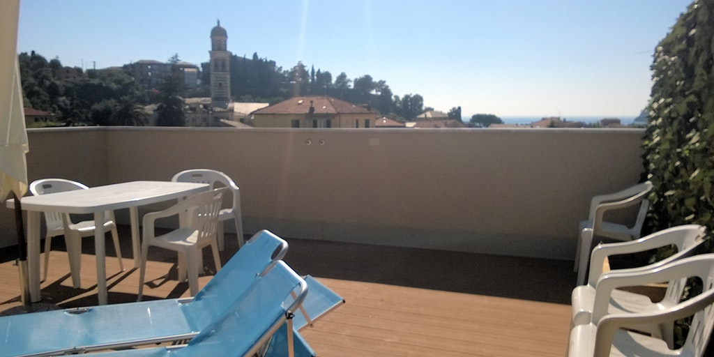 Terrace of apartment A12