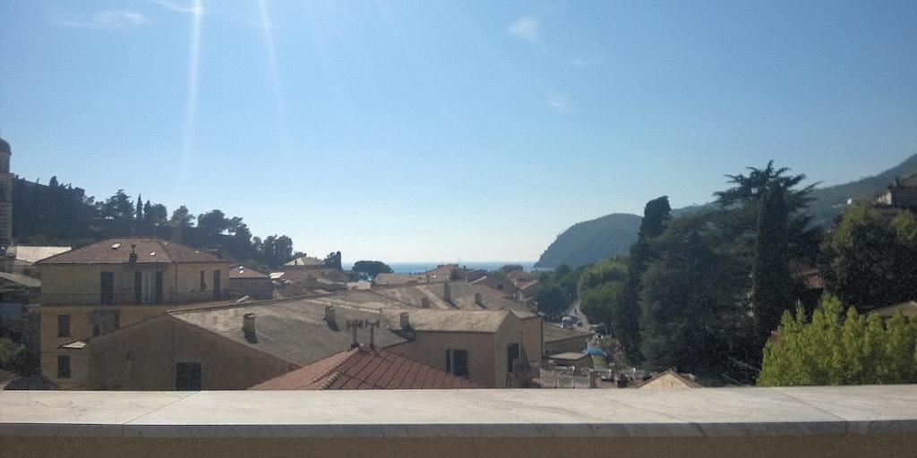 Meerblick von der Wohnung A12