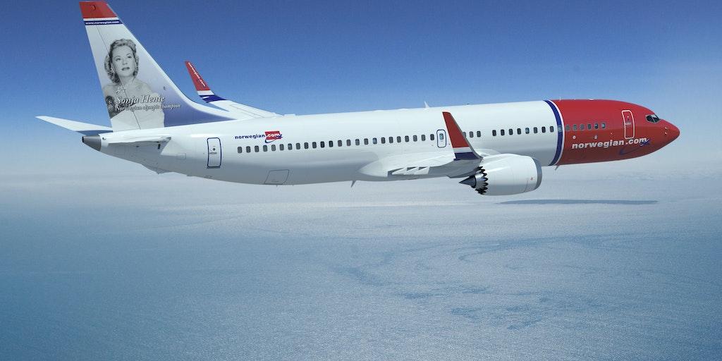 Res med flygbolaget Norwegian till Italien