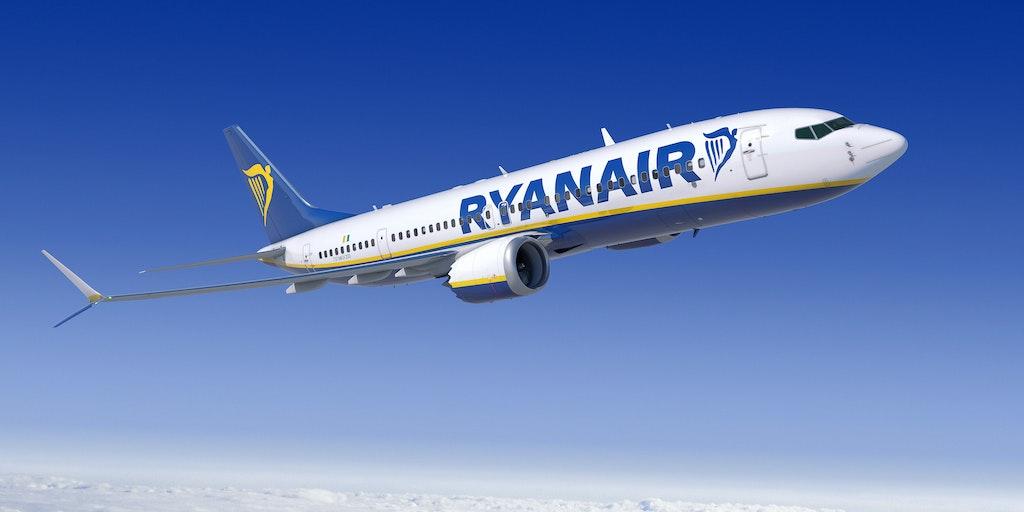 Res till Italien med flygbolaget Ryanair